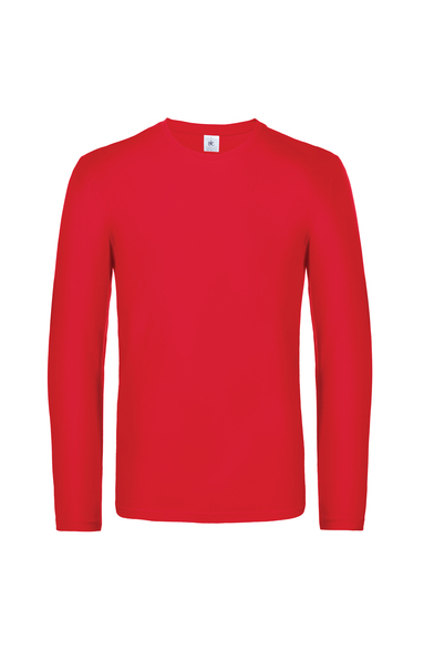 B&C #E190 Long Sleeve In Red