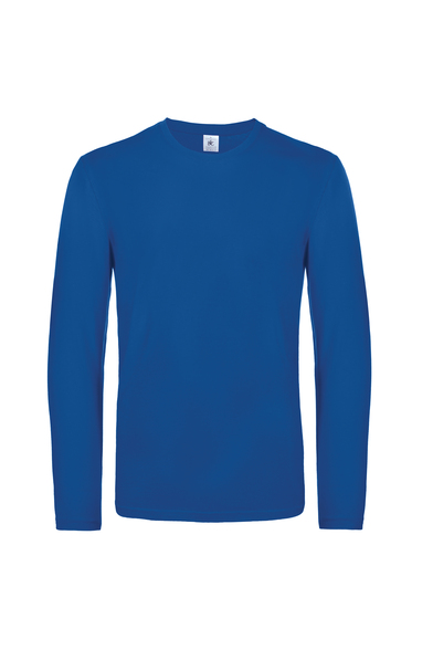 B&C #E190 Long Sleeve In Royal Blue