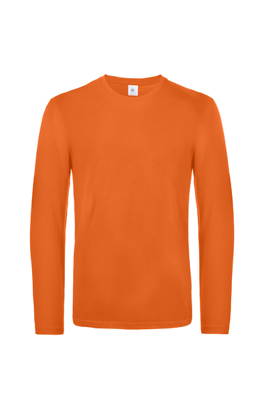 B&C #E190 Long Sleeve In Urban Orange