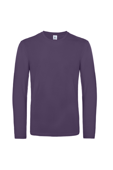 B&C #E190 Long Sleeve In Urban Purple