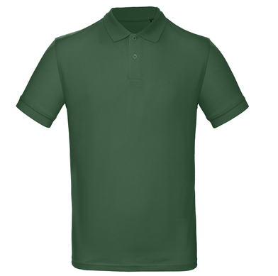 B&C Inspire Polo /men In Bottle Green