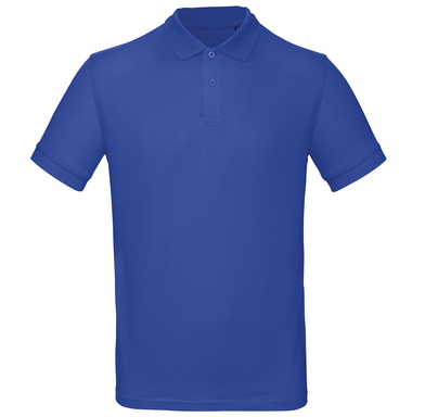 B&C Inspire Polo /men In Cobalt Blue
