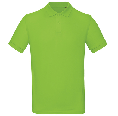 B&C Inspire Polo /men In Orchid Green
