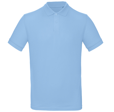 B&C Inspire Polo /men In Sky Blue