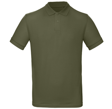 B&C Inspire Polo /men In Urban Khaki