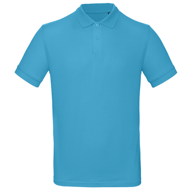 B&C Inspire Polo /men In Very Turquoise