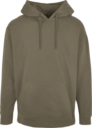 Basic Oversize Hoodie In Olive