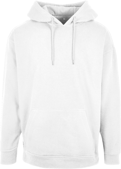 Basic Oversize Hoodie In White