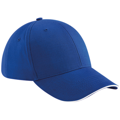 Athleisure 6-panel Cap In Bright Royal/White