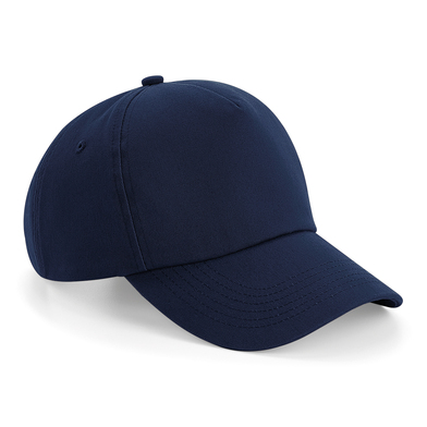 Authentic 5-panel Cap In French Navy