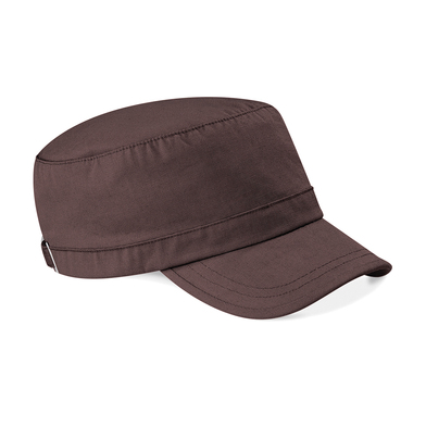 Army Cap In Chocolate