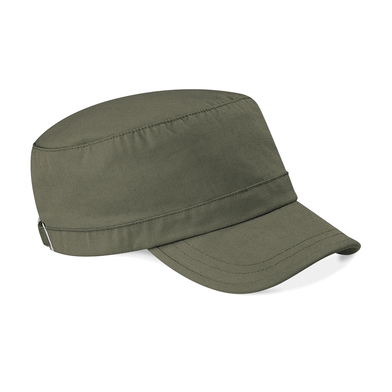 Army Cap In Olive Green
