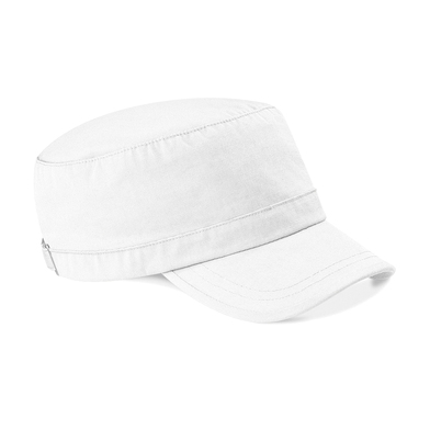Army Cap In White