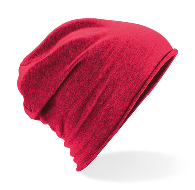 Jersey Beanie In Red