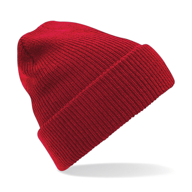 Heritage Beanie In Classic Red