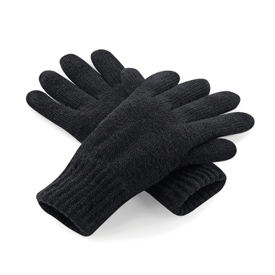 Classic Thinsulate Gloves In Black