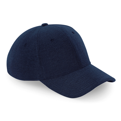 Jersey Athleisure Baseball Cap In French Navy
