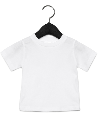 Baby Jersey Short Sleeve Tee In White