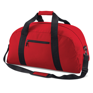 Classic Holdall In Classic Red