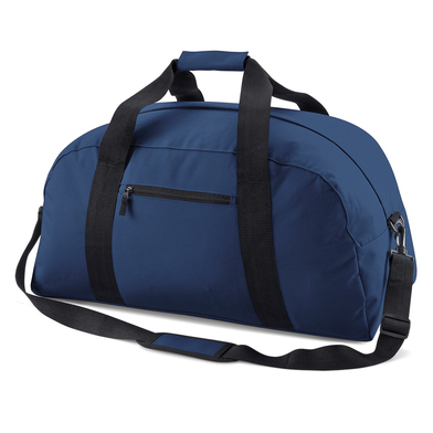 Classic Holdall In French Navy