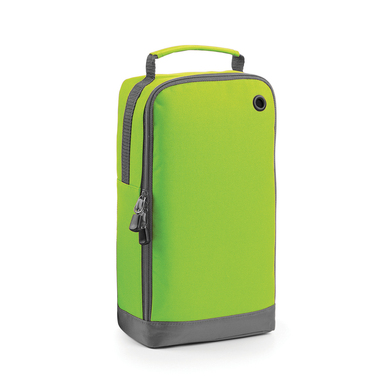 Athleisure Sports Shoe/accessory Bag In Lime Green