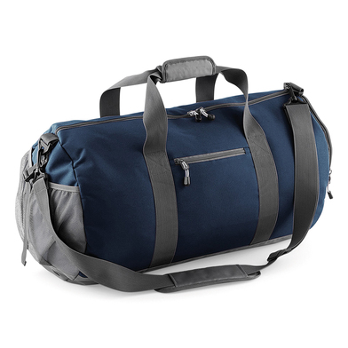 Athleisure Kit Bag In French Navy