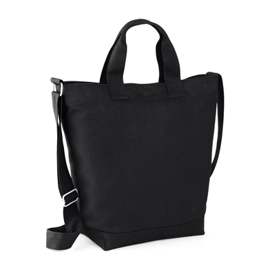 Canvas Day Bag In Black
