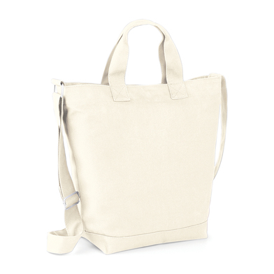 Canvas Day Bag In Natural