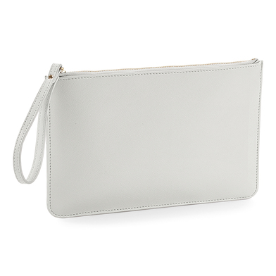 Boutique Accessory Pouch In Soft Grey