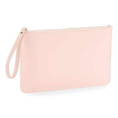 Boutique Accessory Pouch In Soft Pink