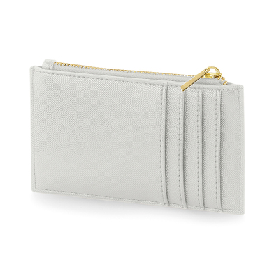 Boutique Card Holder In Soft Grey