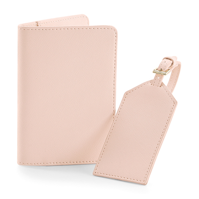 Boutique Travel Set In Soft Pink