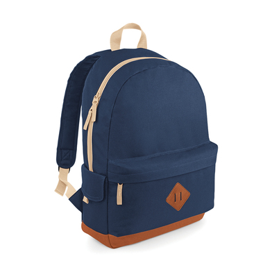 Heritage Backpack In French Navy