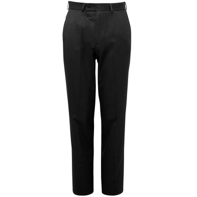 Apollo Flat Front Trousers In Black