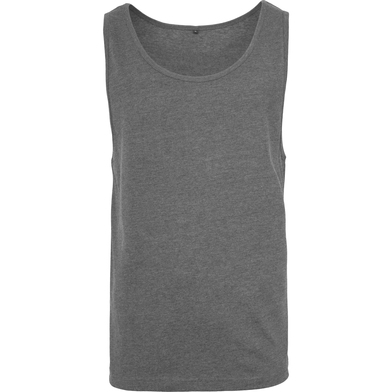 Jersey Big Tank In Charcoal
