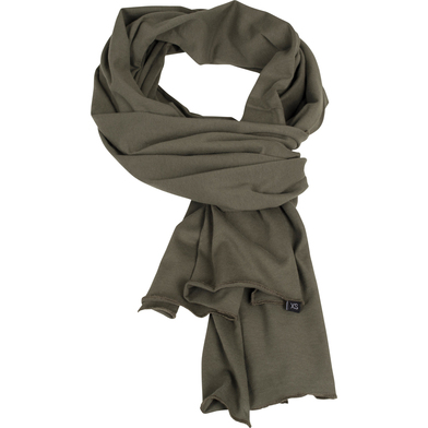 Jersey Scarf In Olive