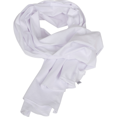 Jersey Scarf In White