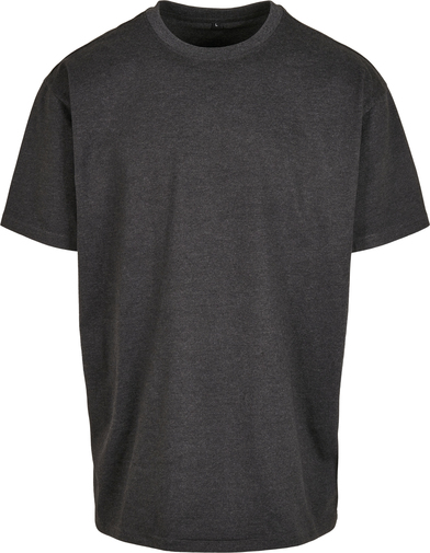 Heavy Oversized Tee In Charcoal