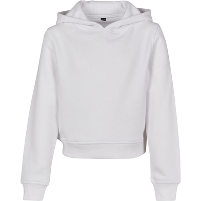 Build your Brand - Girls Cropped Sweat Hoodie