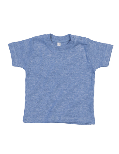 Baby T In Heather Blue