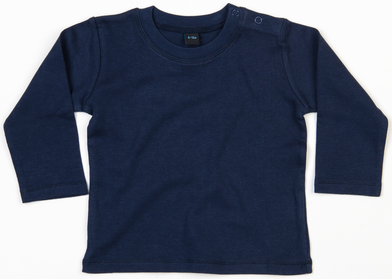 Baby Long Sleeve T In Nautical Navy