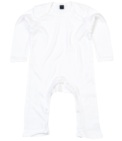 Baby Rompersuit In White