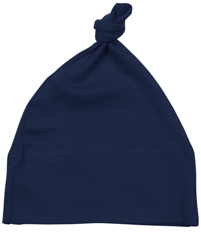 Baby One-knot Hat In Nautical Navy