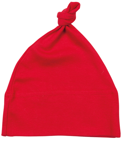 Baby One-knot Hat In Red