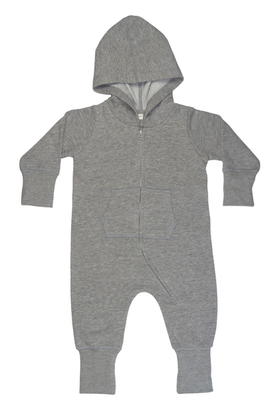 Baby And Toddler All-in-one In Heather Grey Melange