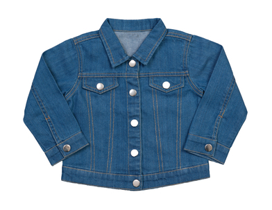 Baby Rocks Denim Jacket In Organic Denim