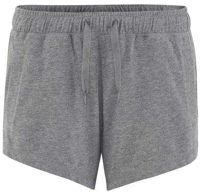 Gals Lounge Shorts In Charcoal
