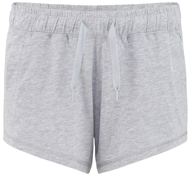 Gals Lounge Shorts In Heather Grey