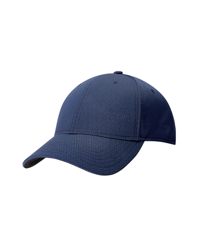 Front Crested Cap In Navy