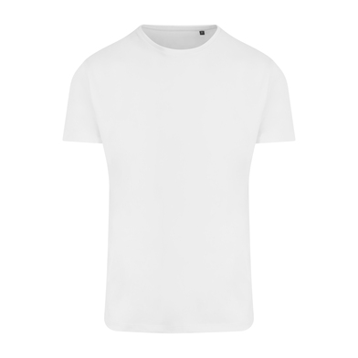 Ambaro Recycled Sports Tee In Arctic White